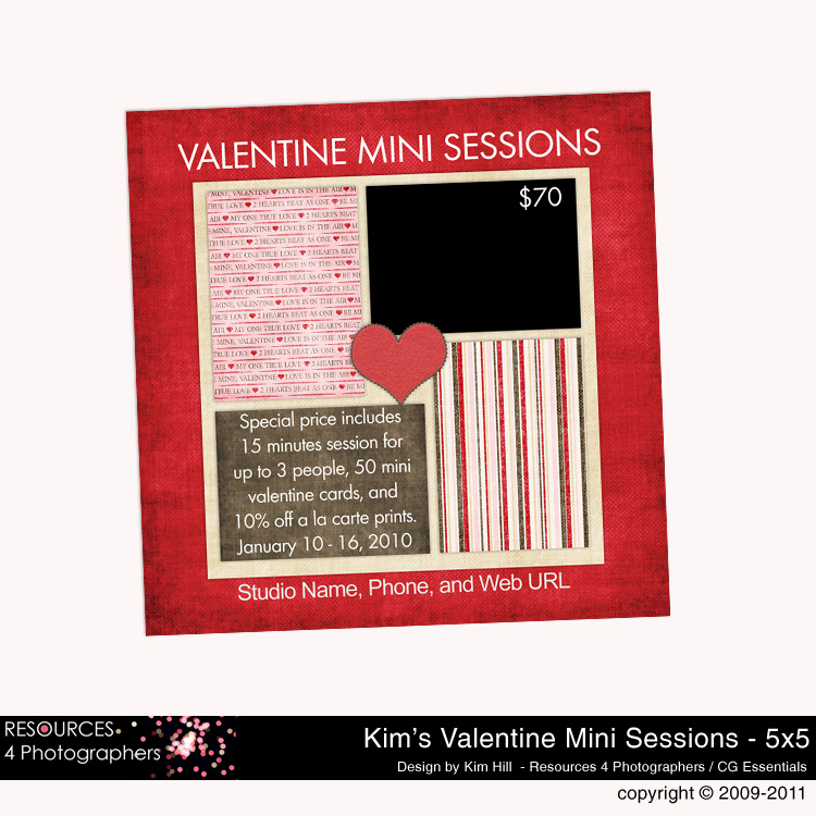 Valentine Marketing Card